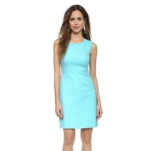 DVF Teal Carrie Dress Size 12
